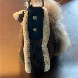 Andrew Marc Bags - Andrew Marc Fur & Suede/Shearling Handbag